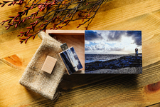 The Rustic Wooden Box & USB (high resolution images)