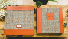 The Luxury Harris Tweed Album & Harris Tweed Sleeve