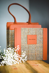 The Luxury Harris Tweed Album with Harris Tweed Sleeve & Bag